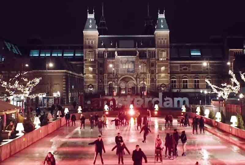Aftermovie van de Amsterdam Light walk