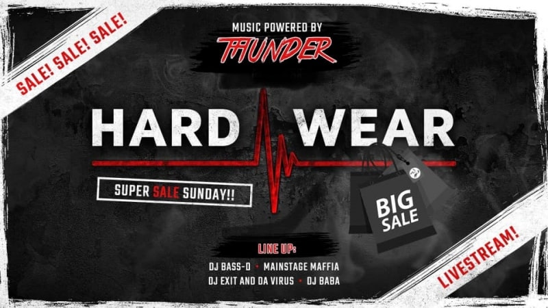 Hard-wear suer sale