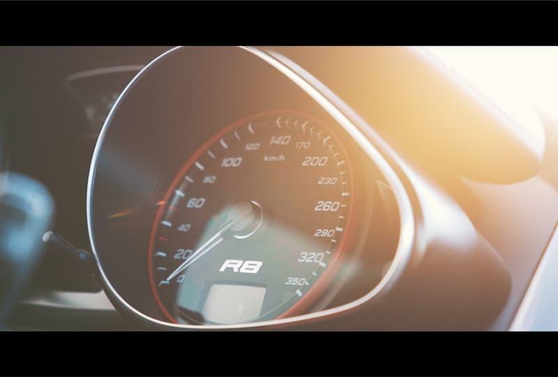 Audi r8 promotie film
