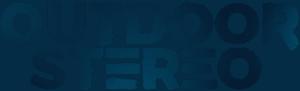 Logo outdoor stereo